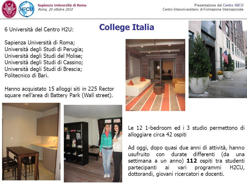 College Italia 6 Università del Centro H2U: