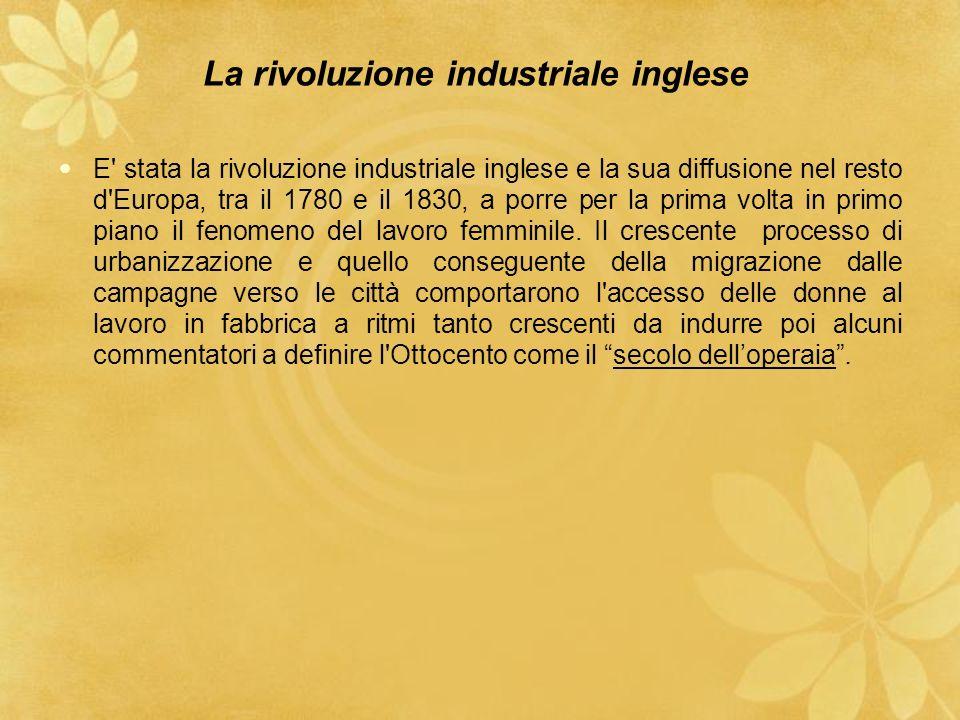La rivoluzione industriale inglese