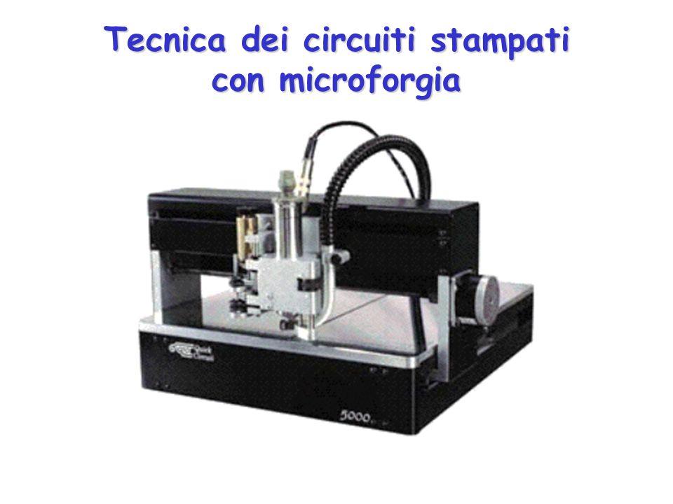 Tecnica dei circuiti stampati con microforgia