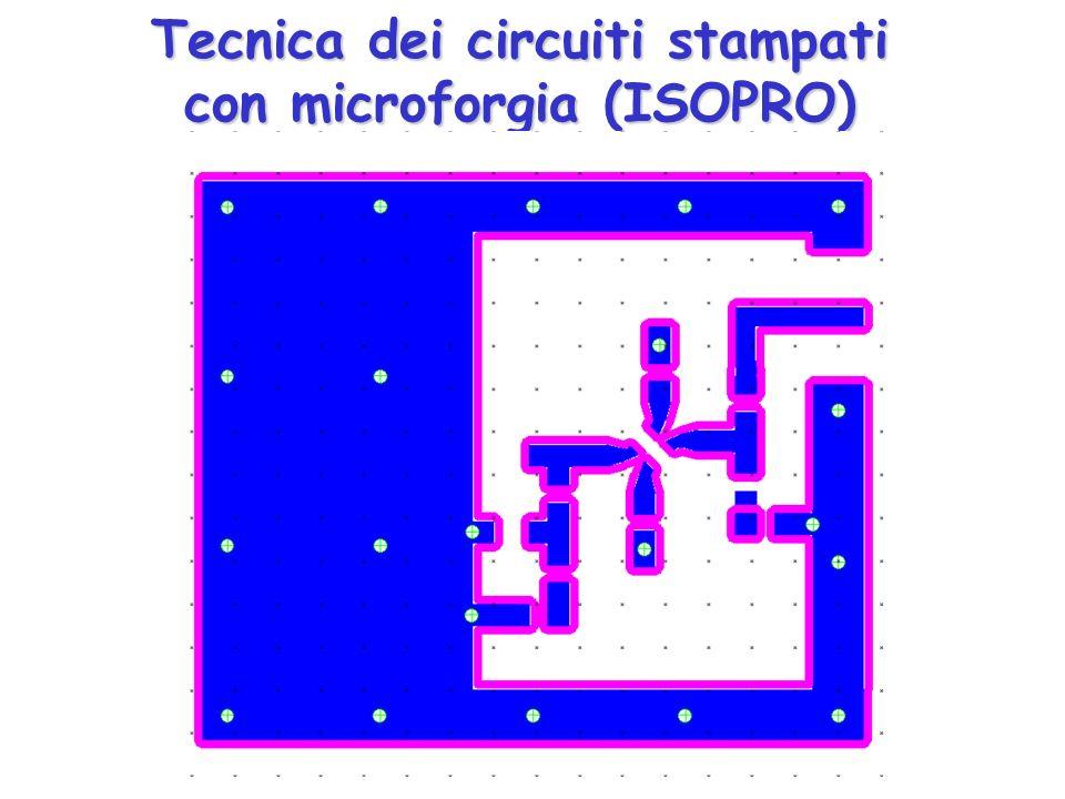 Tecnica dei circuiti stampati con microforgia (ISOPRO)