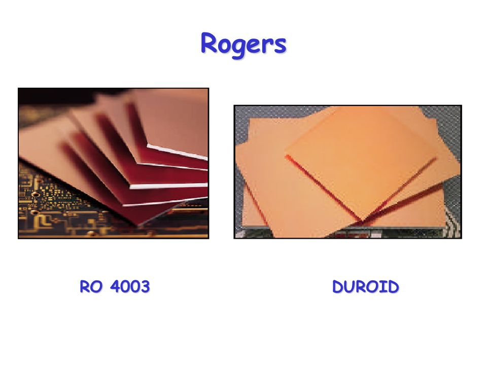 Rogers RO 4003 DUROID