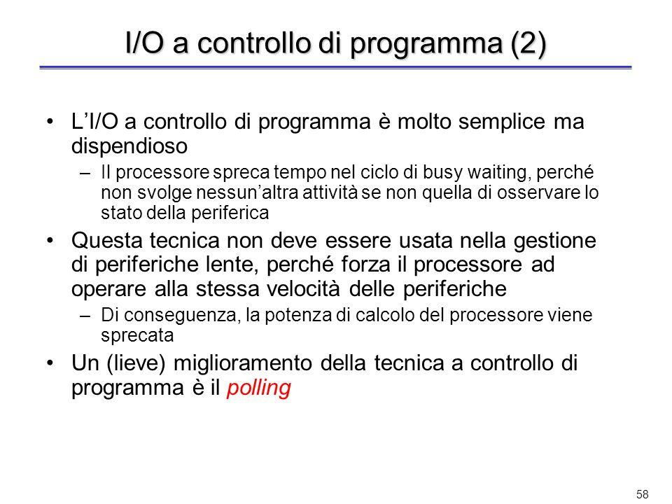 I/O a controllo di programma (2)