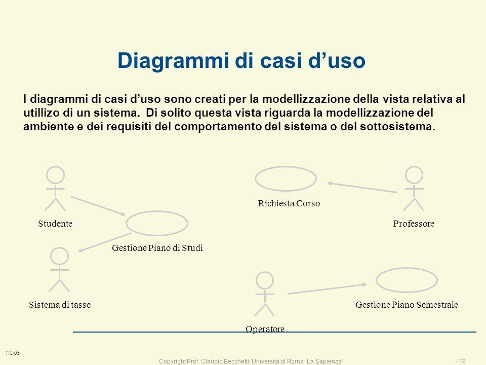Diagrammi di casi d'uso