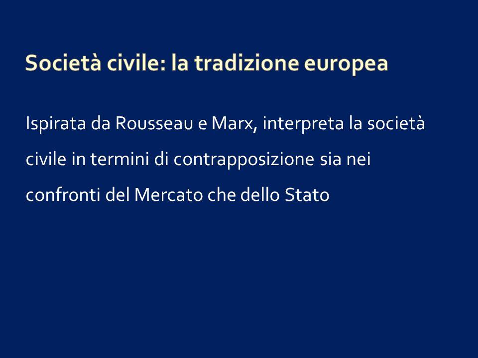 Società civile: la tradizione europea