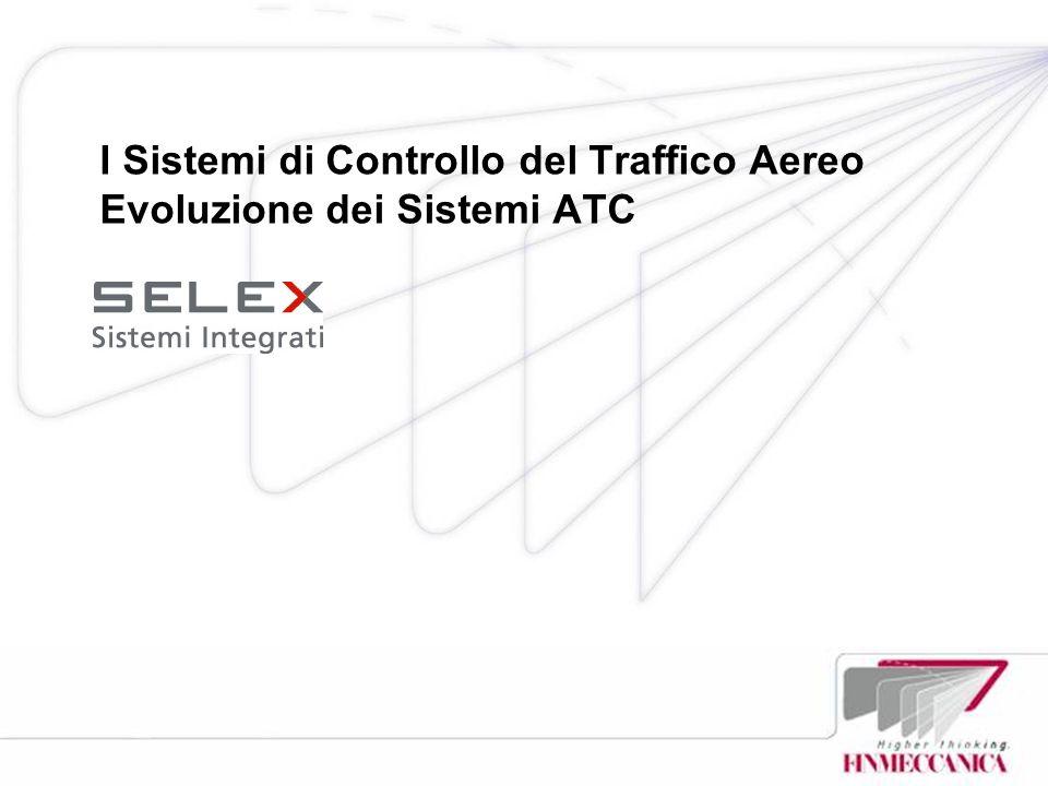 I Sistemi di Controllo del Traffico Aereo Evoluzione dei Sistemi ATC