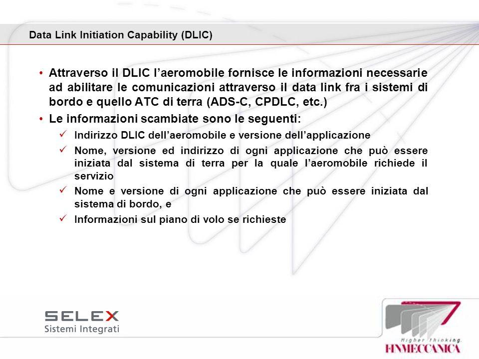 Data Link Initiation Capability (DLIC)
