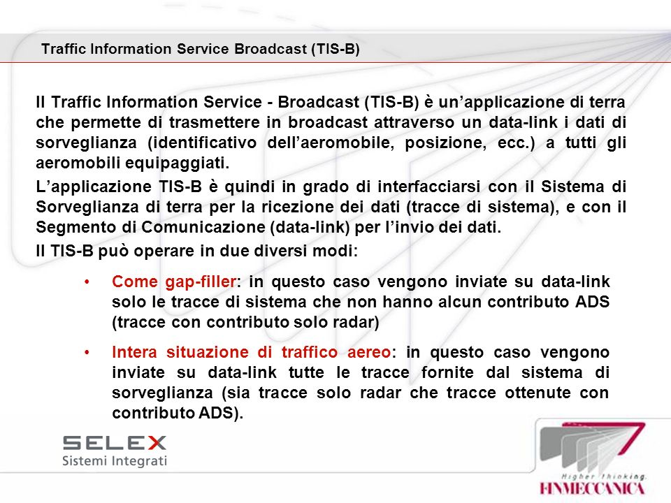 Traffic Information Service Broadcast (TIS-B)