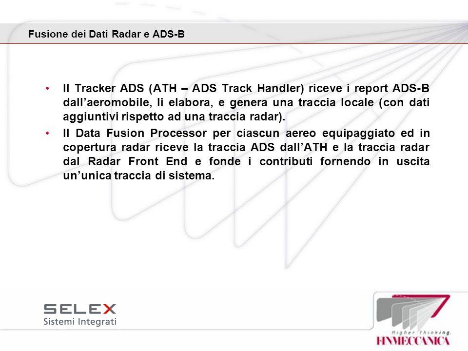 Fusione dei Dati Radar e ADS-B