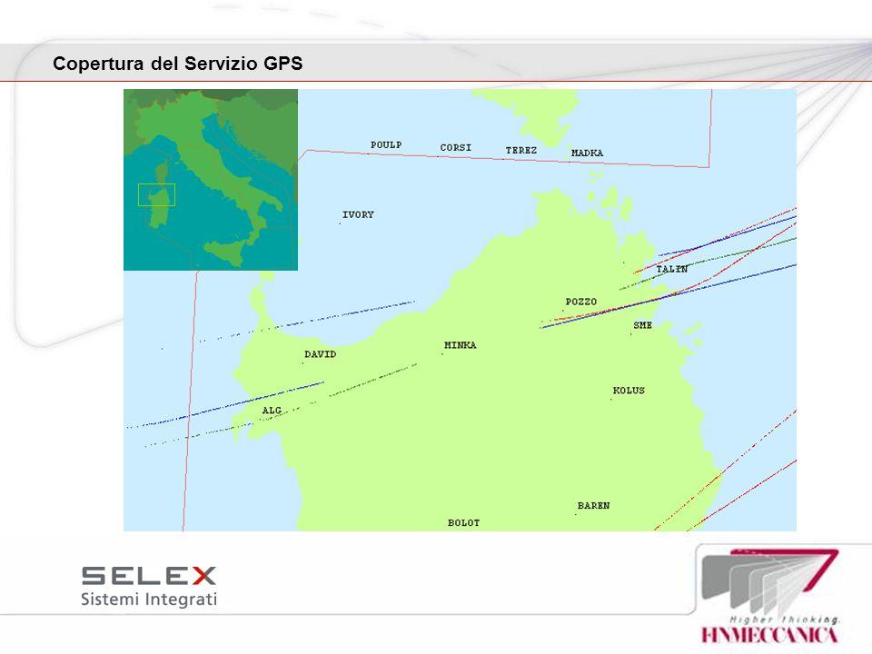 Copertura del Servizio GPS