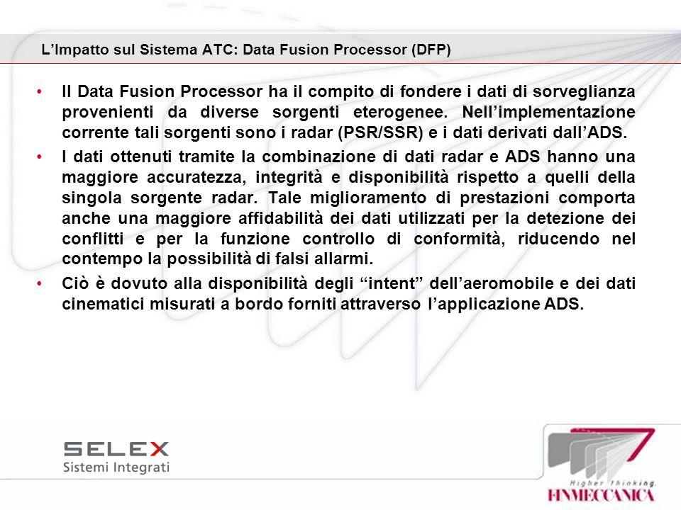 L'Impatto sul Sistema ATC: Data Fusion Processor (DFP)