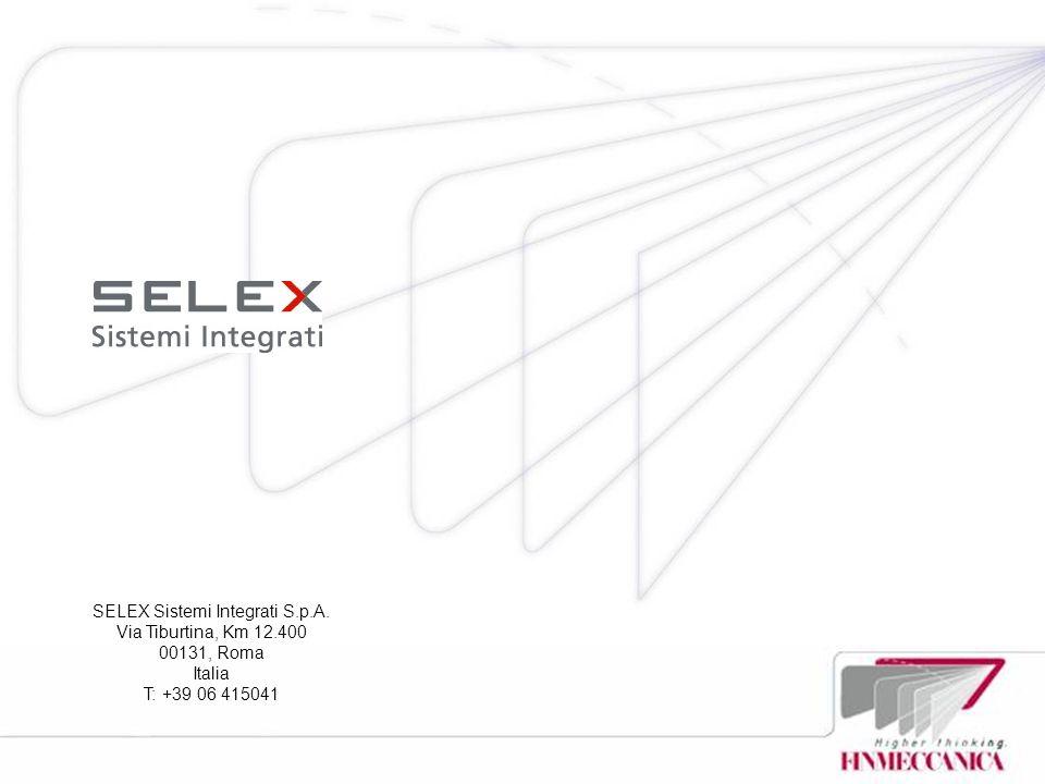 SELEX Sistemi Integrati S.p.A.