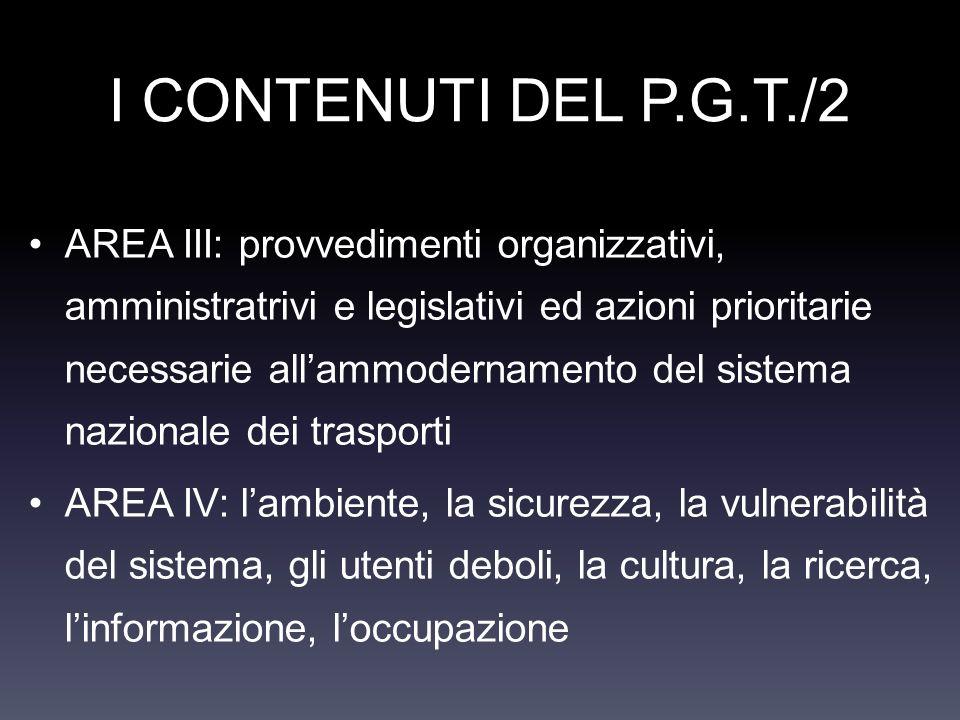 I CONTENUTI DEL P.G.T./2