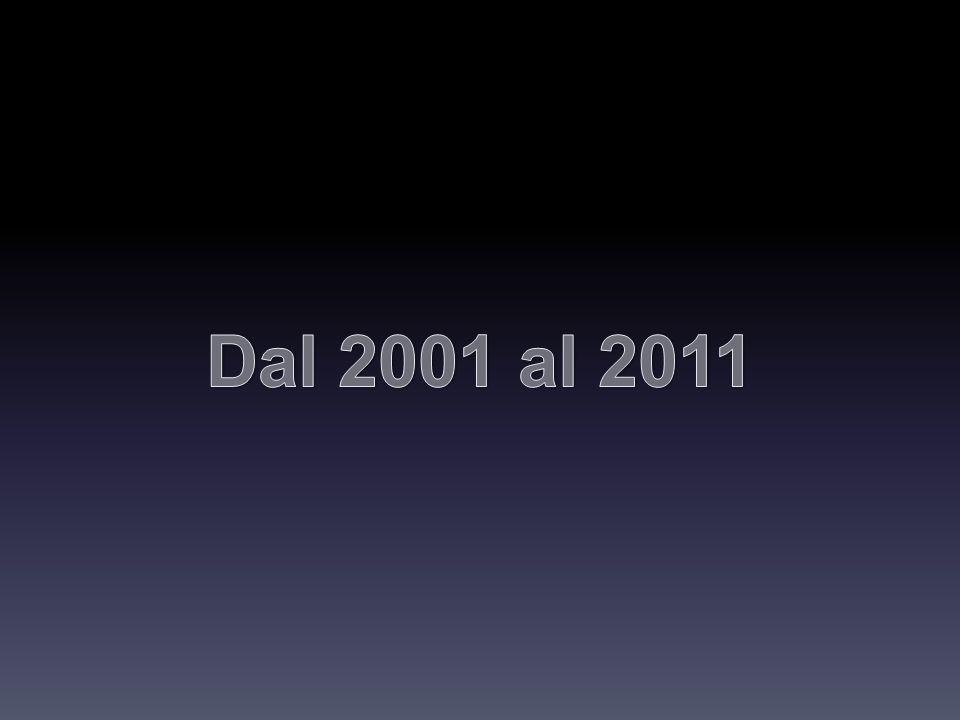 Dal 2001 al 2011