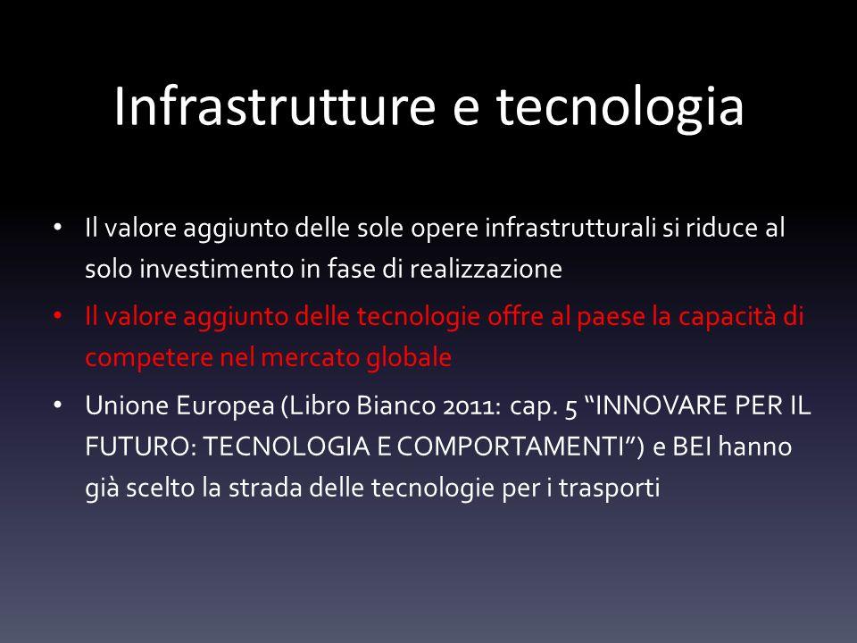 Infrastrutture e tecnologia