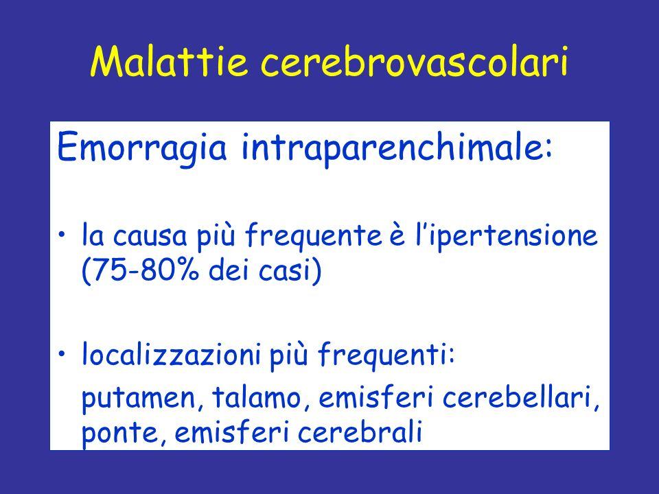 Malattie cerebrovascolari
