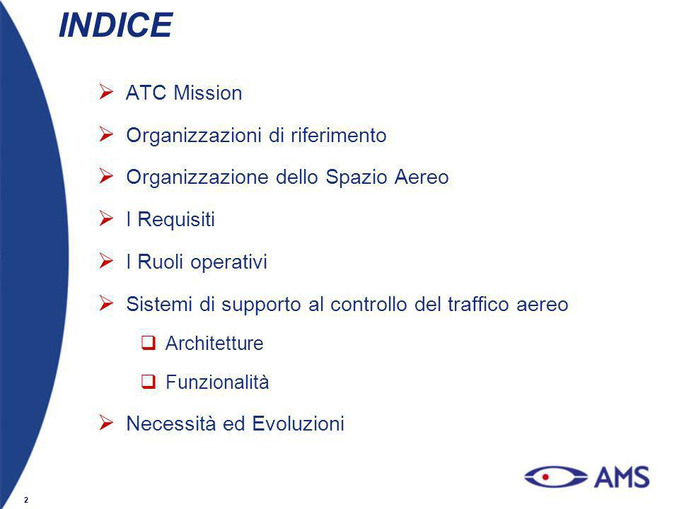 INDICE ATC Mission Organizzazioni di riferimento