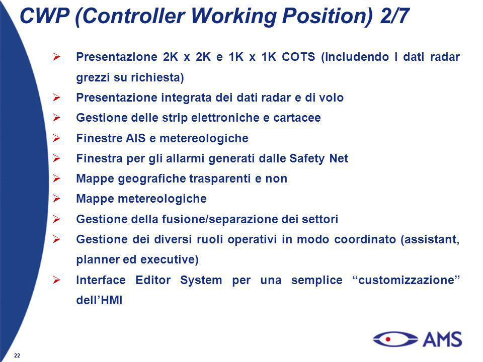CWP (Controller Working Position) 2/7