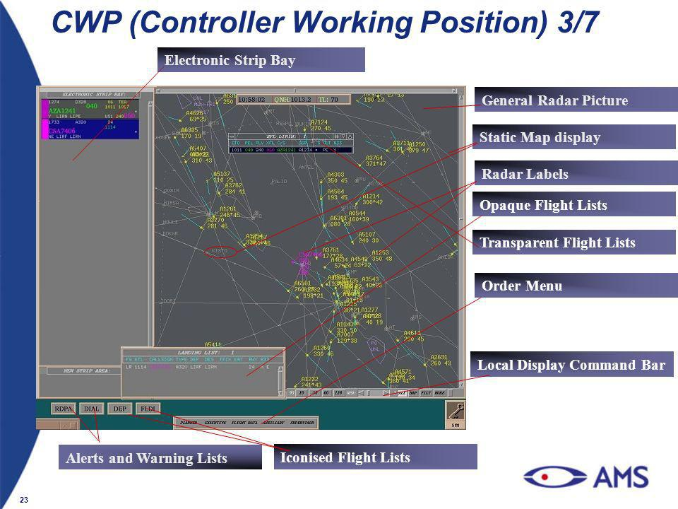 CWP (Controller Working Position) 3/7