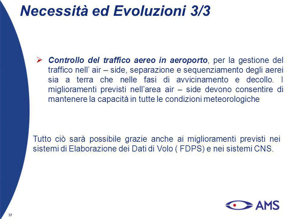 Necessità ed Evoluzioni 3/3
