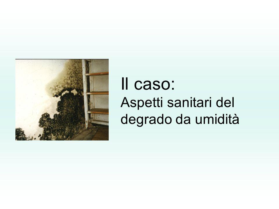 Il caso: Aspetti sanitari del degrado da umidità