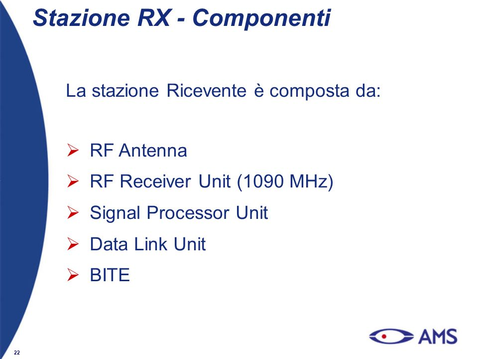Stazione RX - Componenti