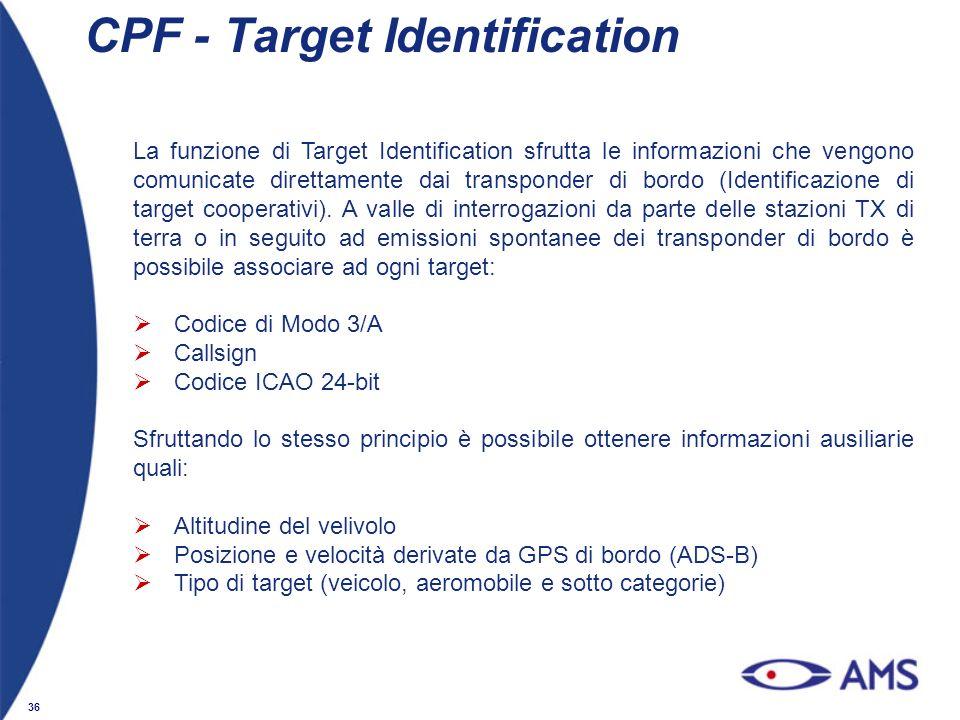 CPF - Target Identification