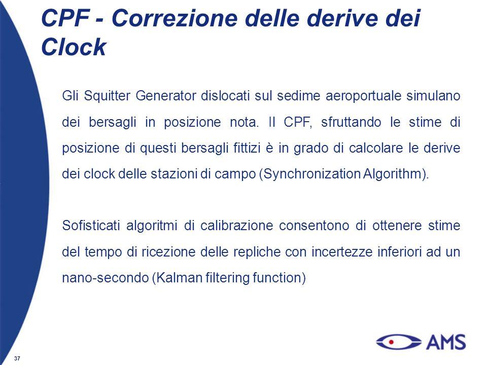 CPF - Correzione delle derive dei Clock