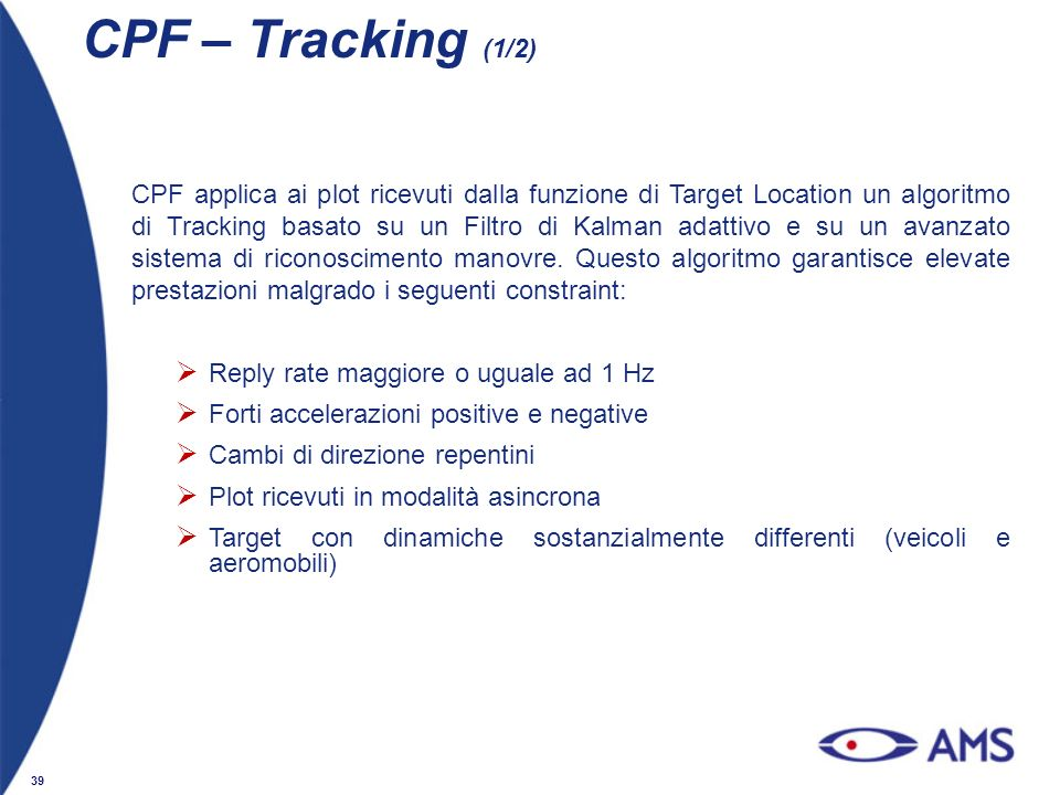 CPF – Tracking (1/2)