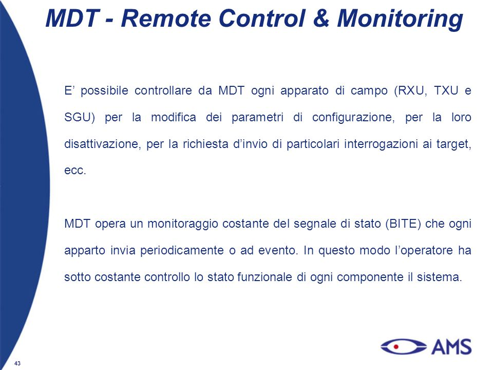 MDT - Remote Control & Monitoring