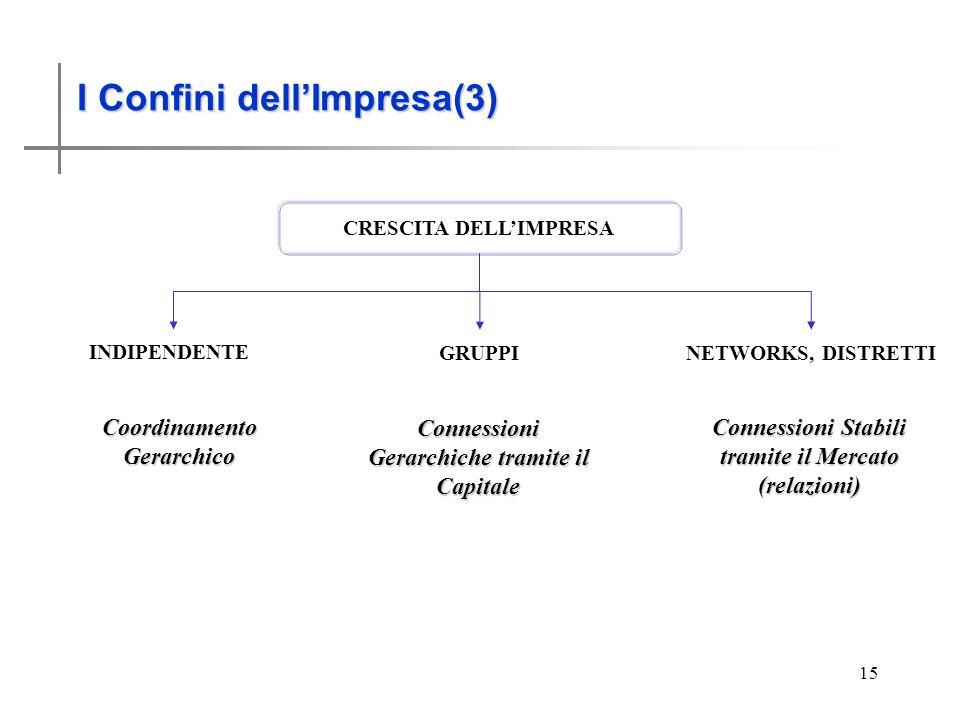 I Confini dell'impresa (3)