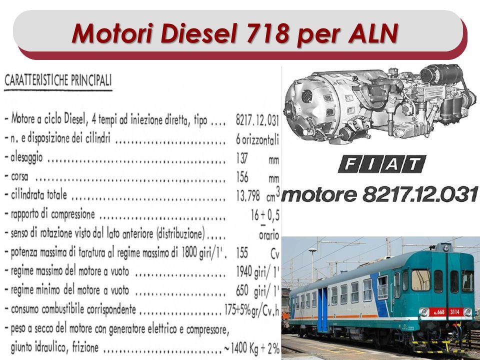 Motori Diesel 718 per ALN