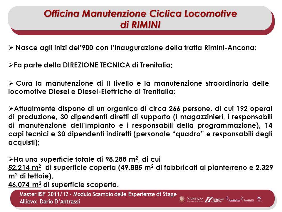Officina Manutenzione Ciclica Locomotive