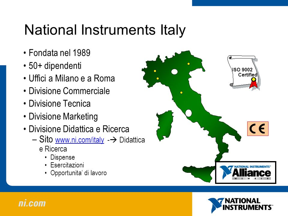 National Instruments Italy