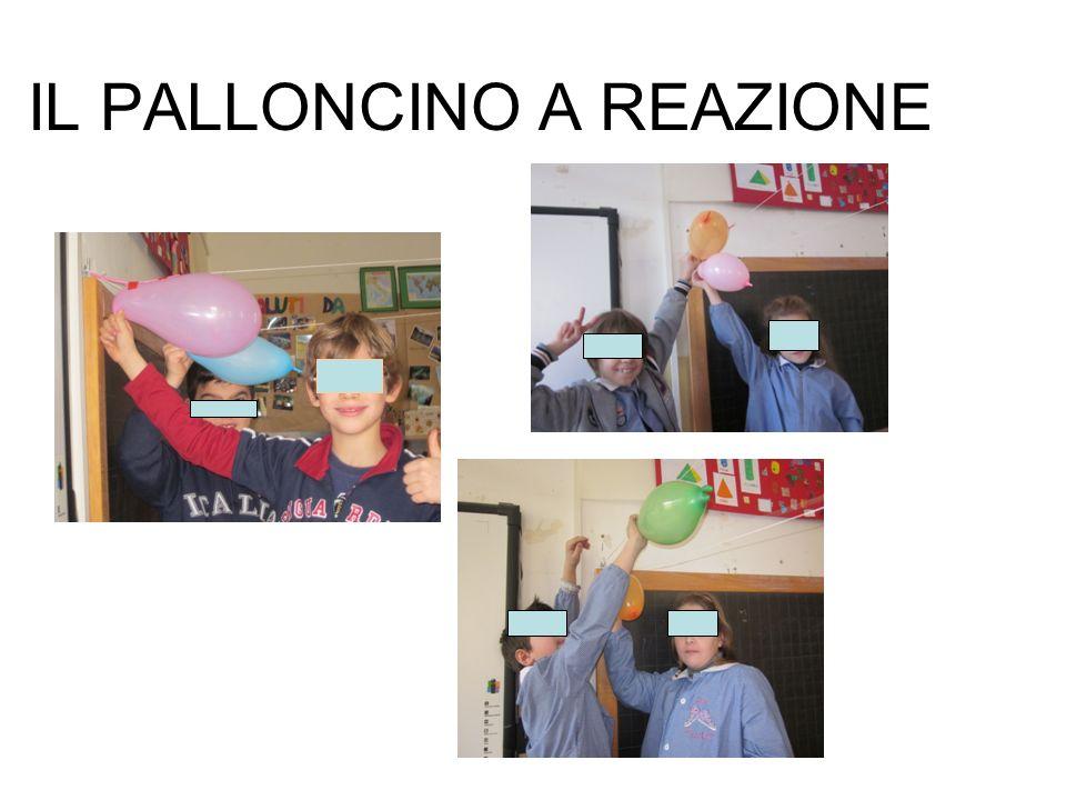 IL PALLONCINO A REAZIONE