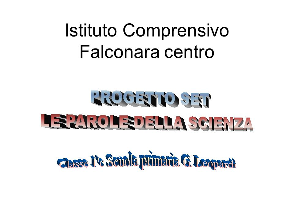 Istituto Comprensivo Falconara centro