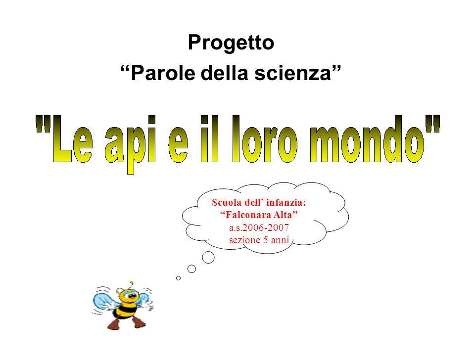 Progetto Parole della scienza