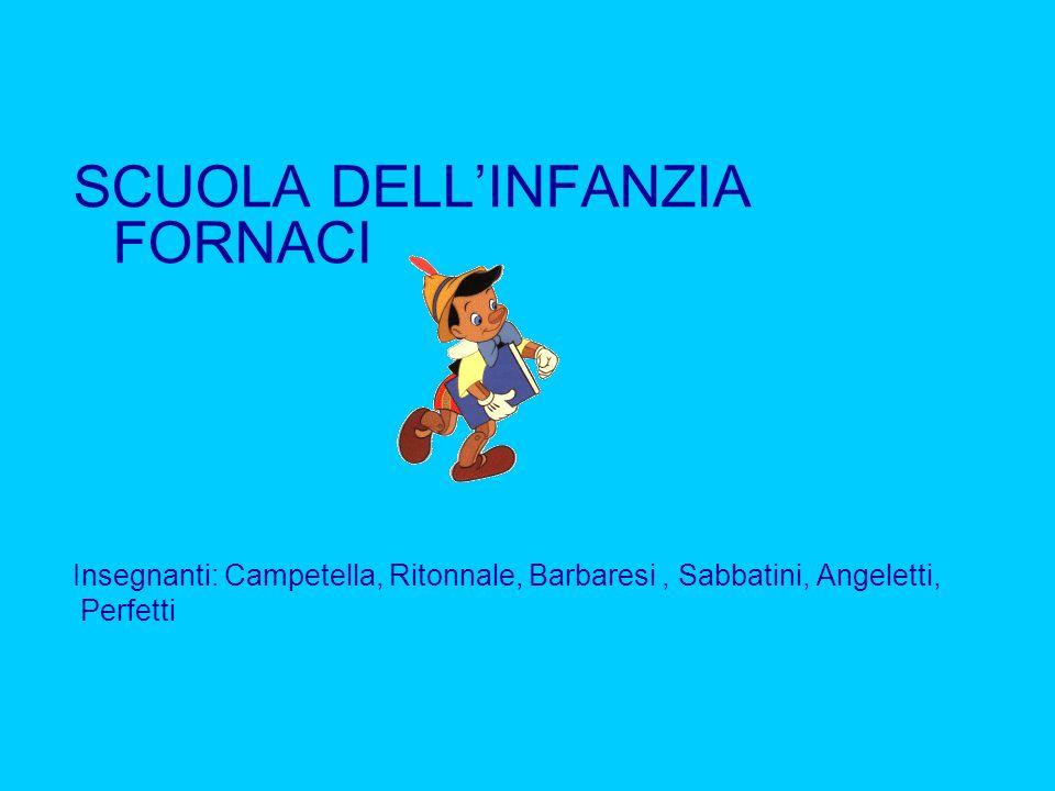 SCUOLA DELL'INFANZIA FORNACI