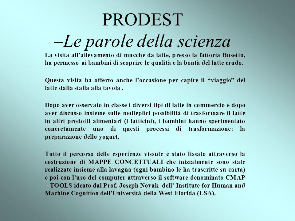 PRODEST –Le parole della scienza