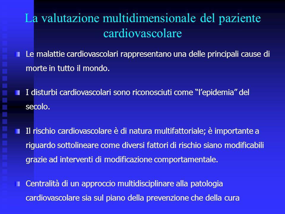 La valutazione multidimensionale del paziente cardiovascolare