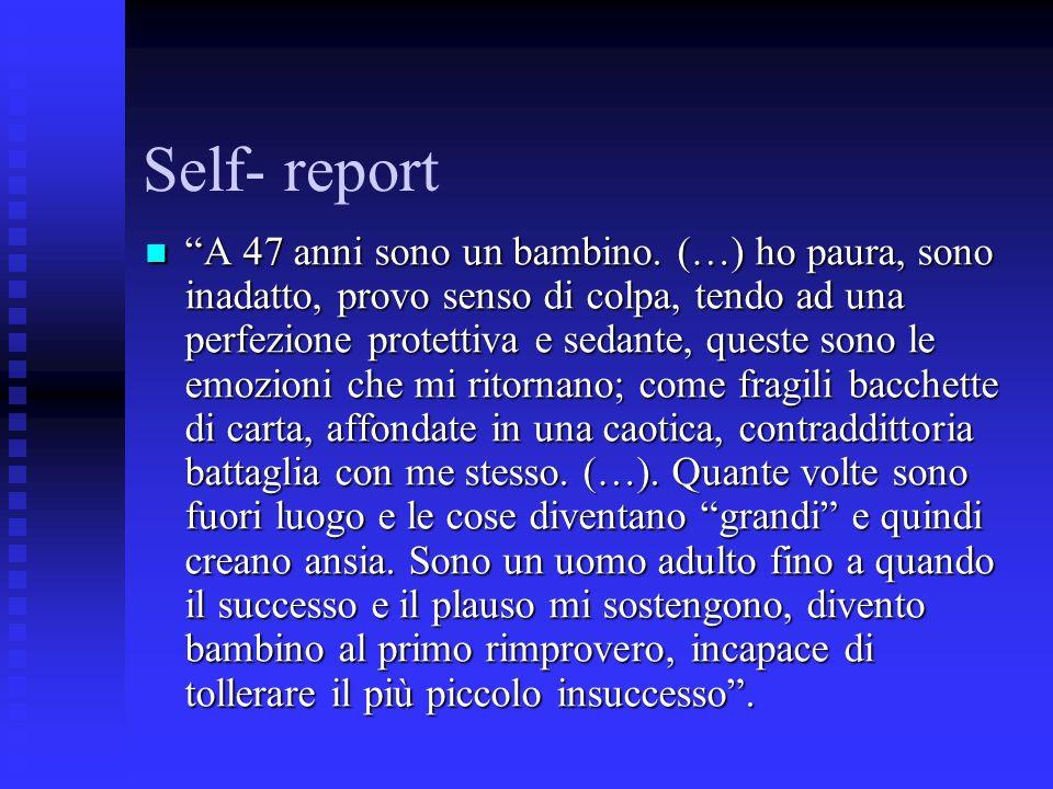 Self- report