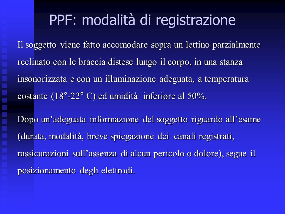 PPF: modalità di registrazione