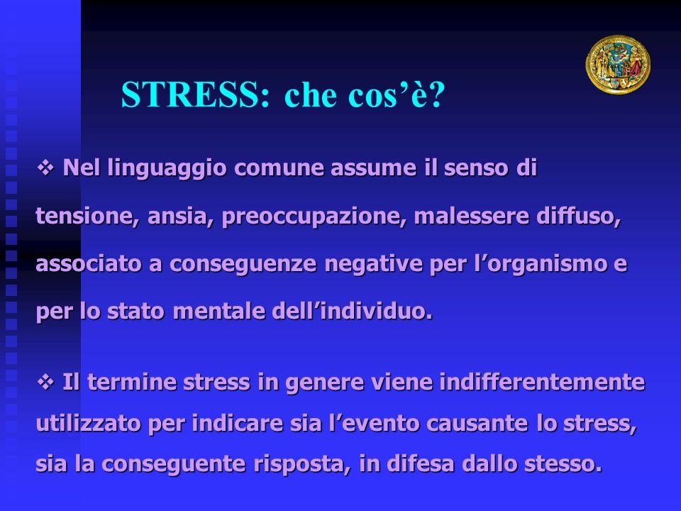 STRESS: che cos'è