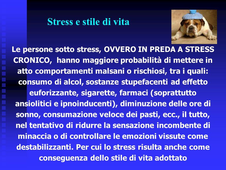 Stress e stile di vita