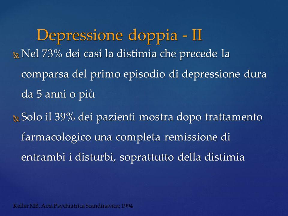 Depressione doppia - II