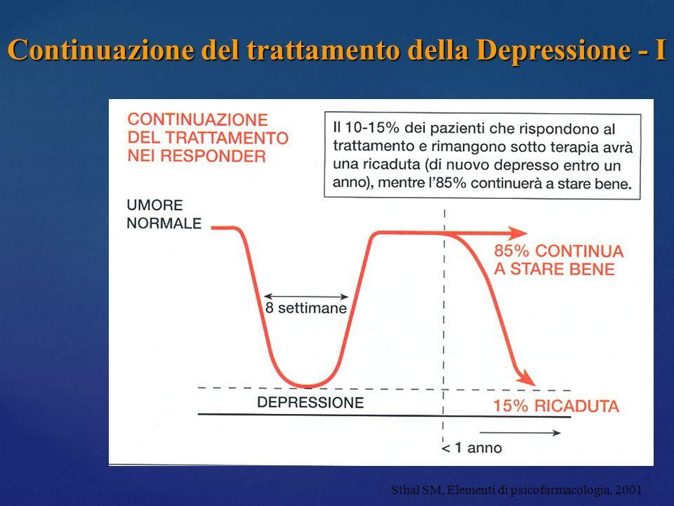 Continuazione del trattamento della Depressione - I
