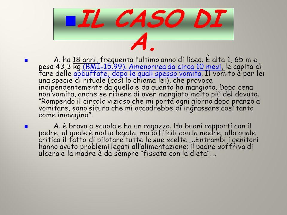 IL CASO DI A.