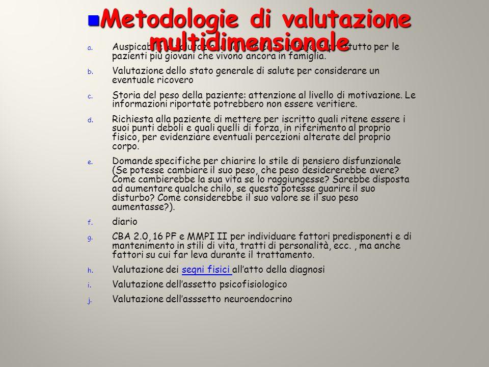 Metodologie di valutazione multidimensionale
