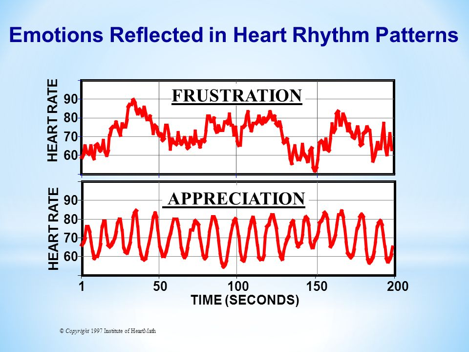 Emotions Reflected in Heart Rhythm Patterns