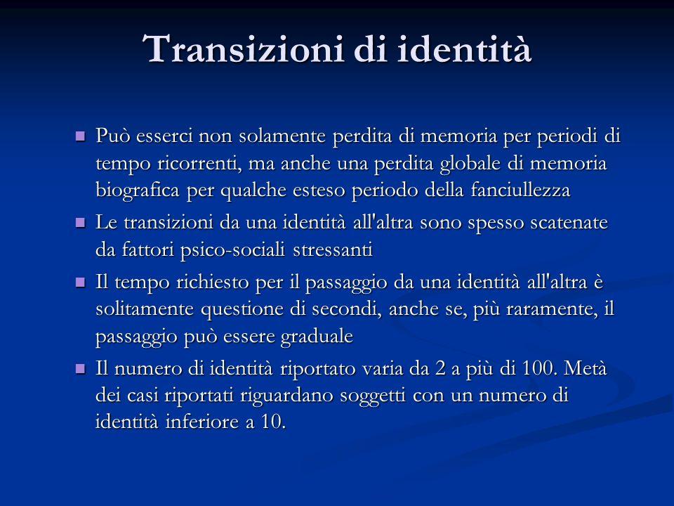 Transizioni di identità