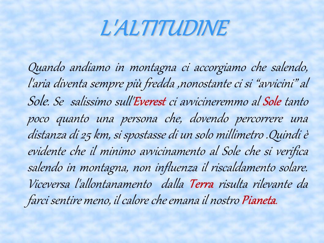 L ALTITUDINE